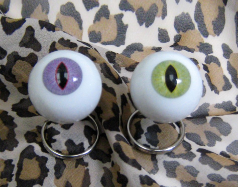 Cat Eye Keychain