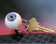 The Original Eyeball Keychain